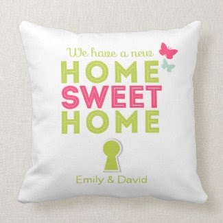 Home Sweet Home {new home} Pillow