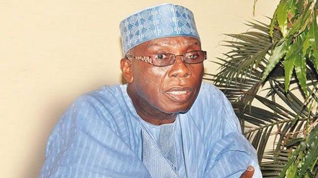 Veteran Nigerian politician Audu Ogbe