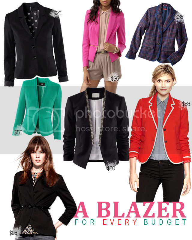 blazers on a budget
