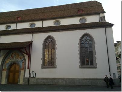 Cornelia und Andrea - Die Franziskanerkirche