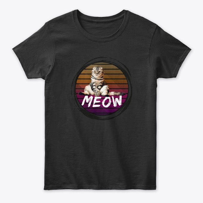 Funny Lazy Kitten - MEOW Classic Tee