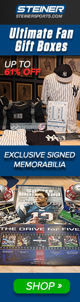 Up to 61% OFF Ultimate Fan Gift Boxes at SteinerSports.com