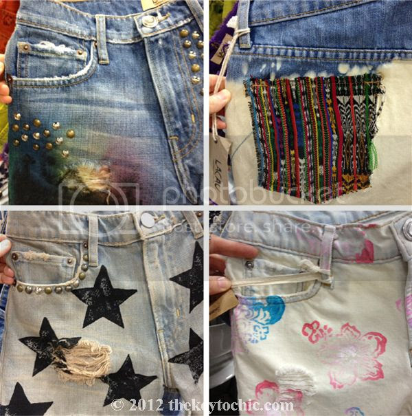 Lacau DIY denim cutoff shorts