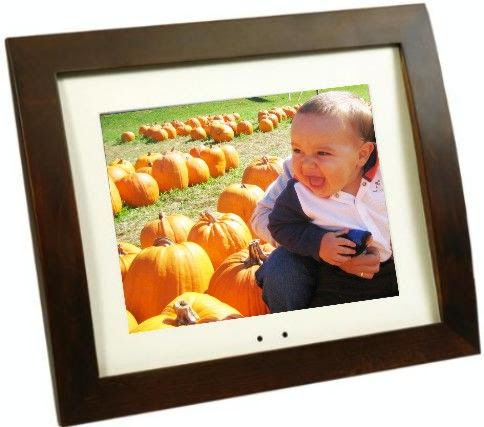 Smartparts Sp700w Digital Picture Wood Frame Lcd 7 Color Display