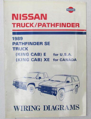 Buy 1989 Nissan OEM Pathfinder SE/Truck Wiring Diagrams in ...