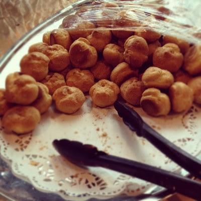 Cream puffs! I died happy. :D  (Taken with Instagram)
