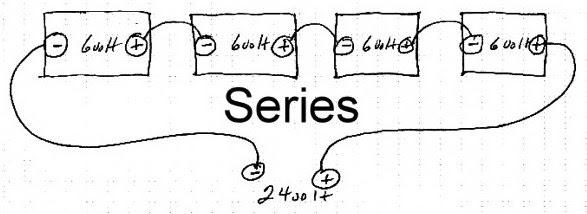 24 volt series wiring