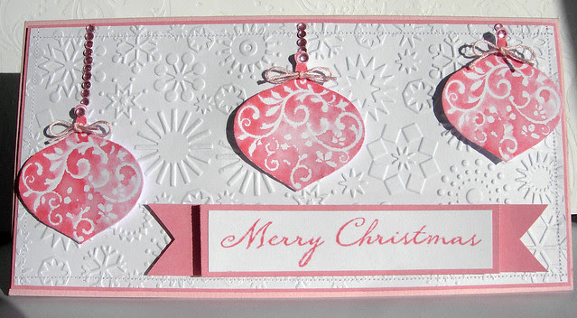 Worn Lipstick Christmas Ornaments