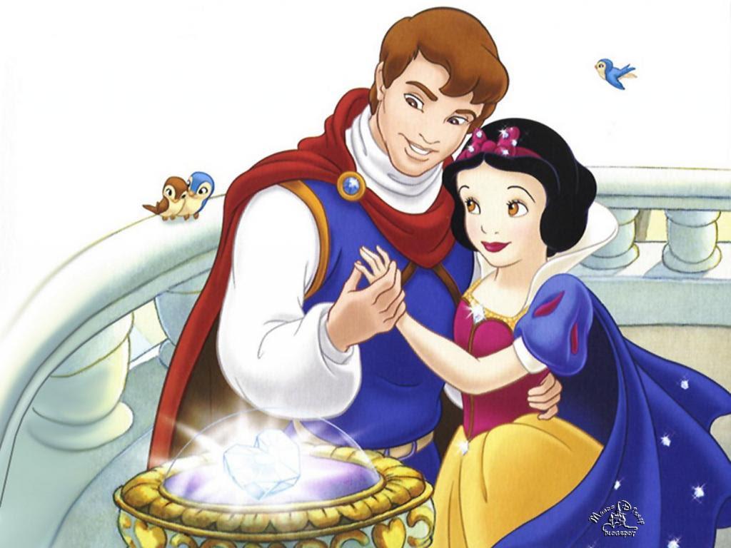 Dessin en couleurs  imprimer Personnages cél¨bres Walt Disney Blanche neige et les sept nains numéro