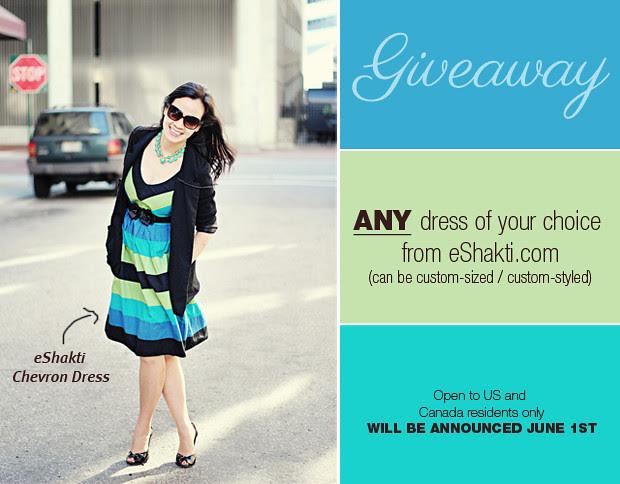 giveaway eshakti dress