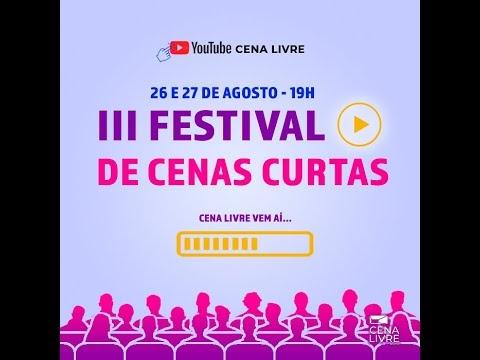 III Festival de Cenas Curtas Cena Livre de Teatro