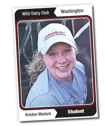 belong  washington state dairy club kristen wedam
