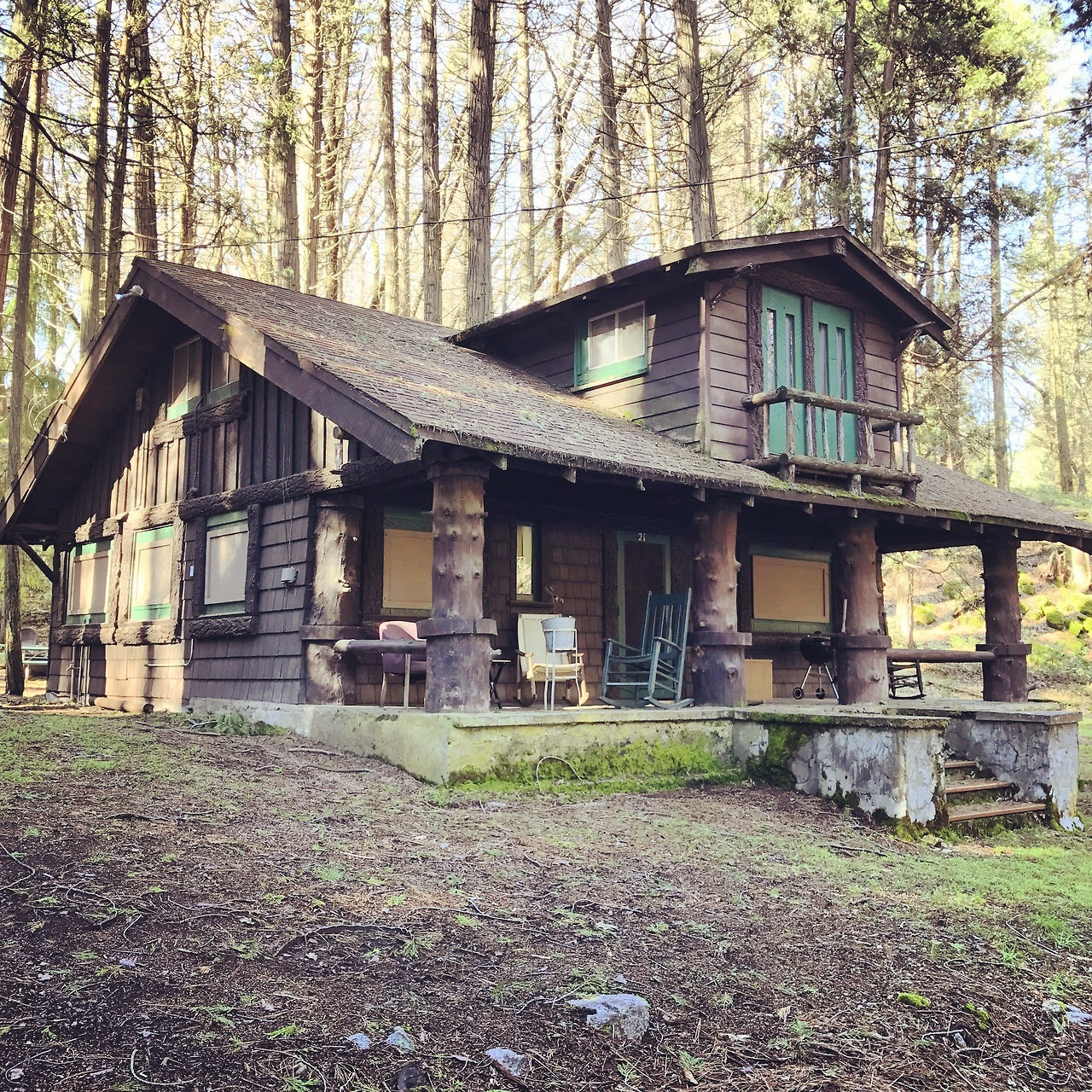 "Submitted by Tom Schmidt ""Our 1895 Cabin, recently purchased and in need of repair, we are beginning to restore this California gem back to its original interior, hoping to match the charm of the exterior. This cabin was originally a hunting lodge..."