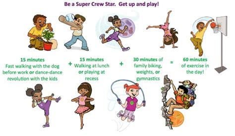 ways   exercise fun  busy parents superkids