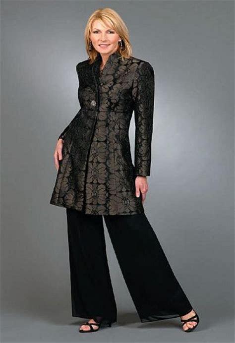 ursula pc coat pant suit  french novelty