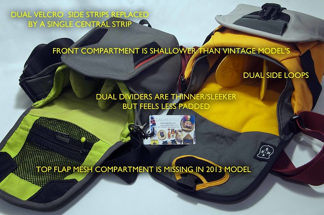 Crumpler 4 Million Dollar Home Open Side by Side with Labels