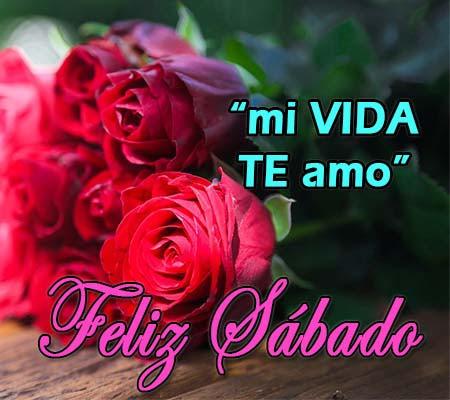 Imagenes De Rosas Con Frases De Feliz Sabado Rosas De Amor