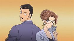 Detective Conan Kogoro And Eri