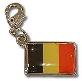 NATIONALFLAG 国旗柄ファスナーホルダー ベルギー王国 07115-4