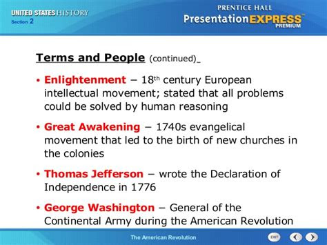 history ch section  notes