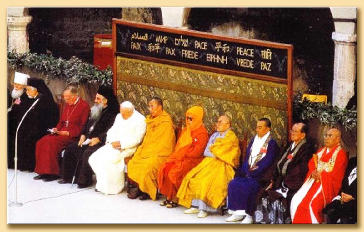 riunione interreligiosa di assisi 1986