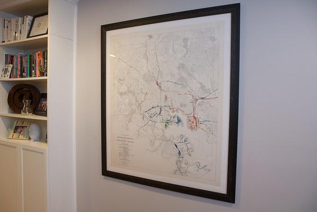 Baltimore Railroad Map
