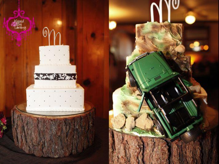 wedding cake alternatives two sided cakes 1
