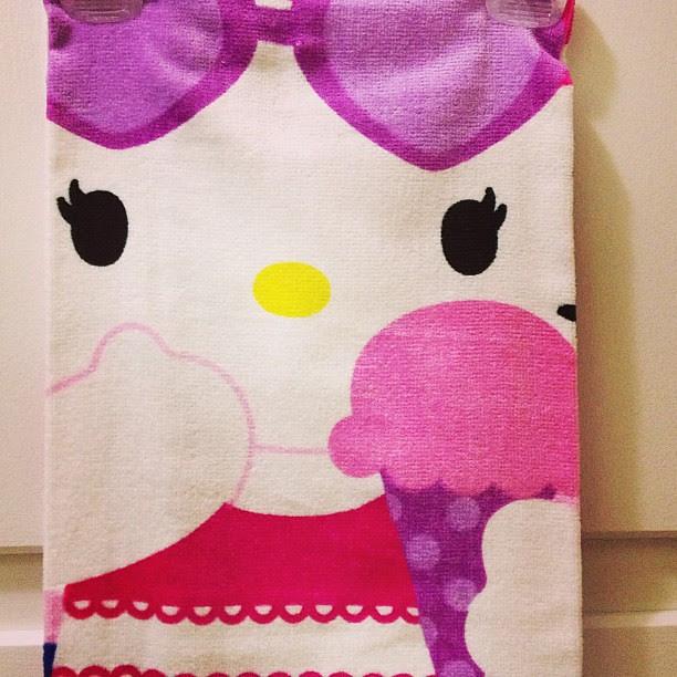 Day182 My new beach towel 7.1.13 #jessie365