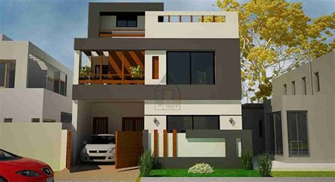 marla house plan design front elevation  marla