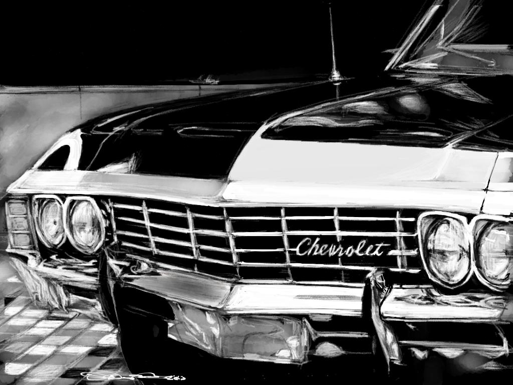 Supernatural Impala Wallpaper Sf Wallpaper