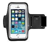 iPhone 6 Plus 5.5 アームバンド ネオプレーン素材 防水加工 キーポケット付 アップル Apple アイホン アイフォン 【ブラック】【MiniSuit】【日本正規輸入代理店品】