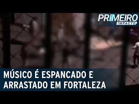 Músico é amarrado, agredido e arrastado em rua de Fortaleza (CE)