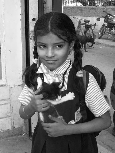 Cat Girl by firoze shakir photographerno1