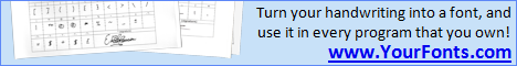 Your Fonts - Font Generator