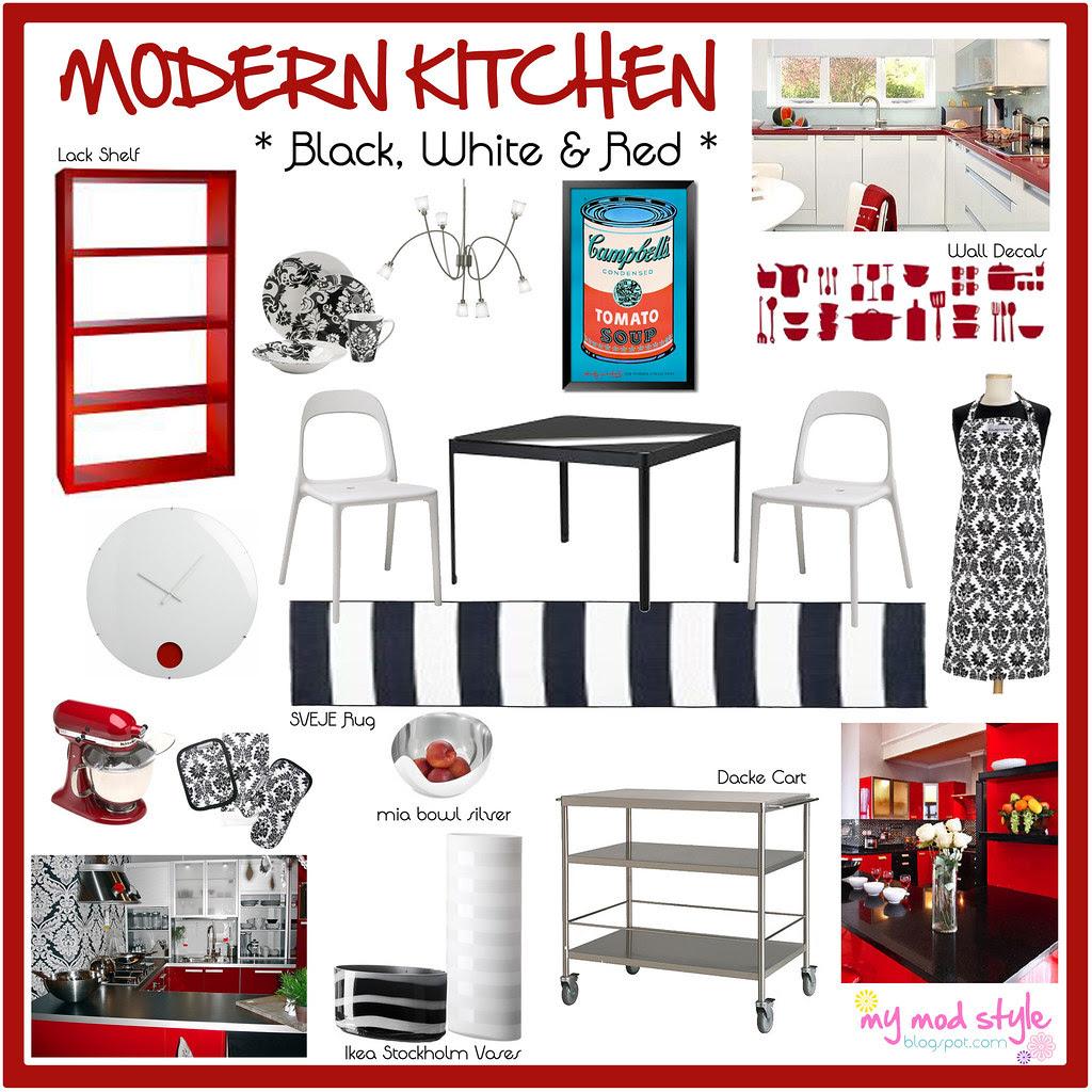 Modern Kitchen Design Board 10x10