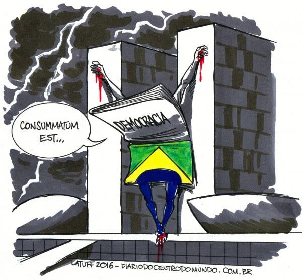 Dilma � derrubada pelo senado DCM Online