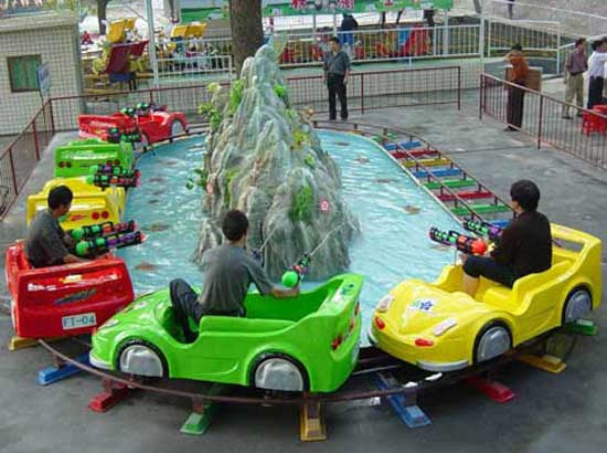 kiddie carnival coaster with 6 cars