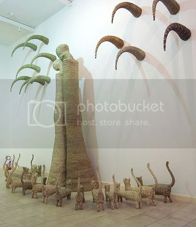 Ahmed Askalany's Weaved Sculpture 4