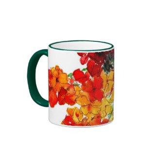 Wallflowers Ringer Mug mug