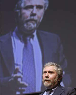 El Nobel Paul Krugman durante una conferencia en México en una imagen de archivo