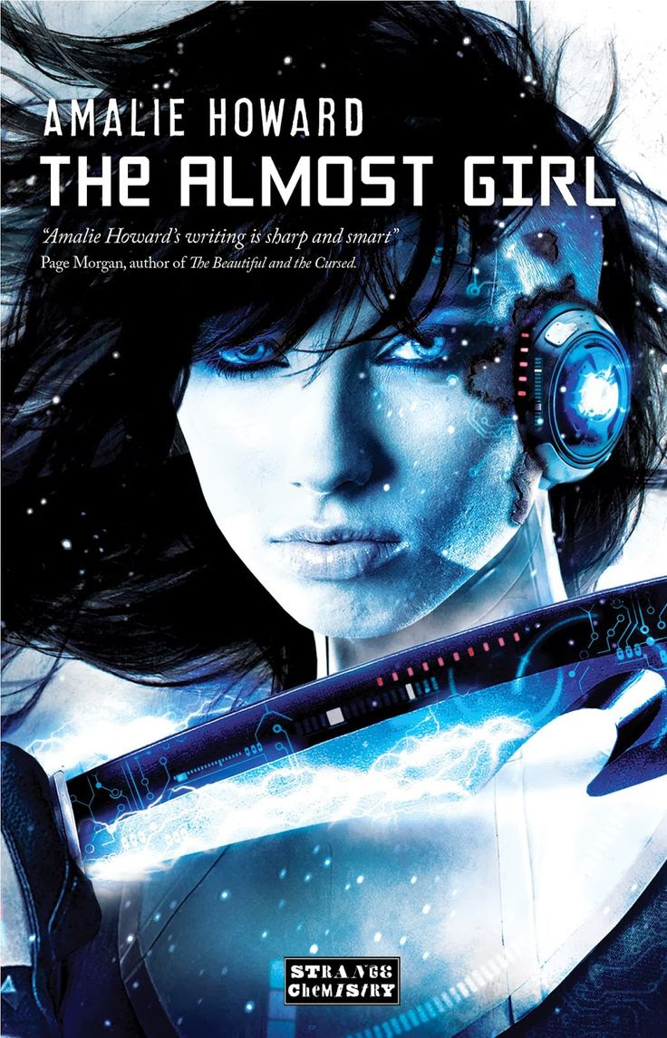 The Almost Girl by Amalie Howard