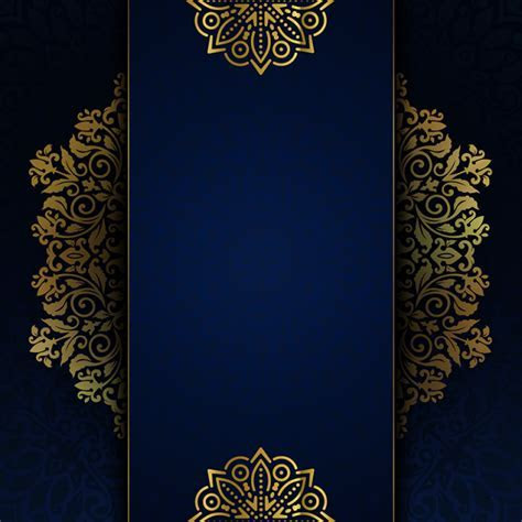 Luxury Background And Invitation, Islamic, Luxury, Golgen