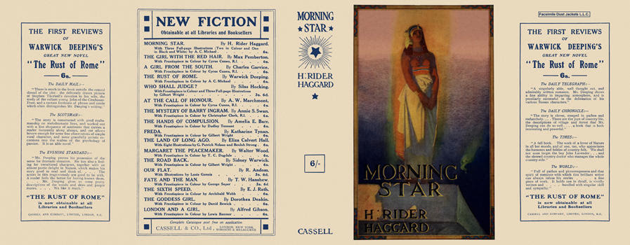 Morning Star. H. Rider Haggard.