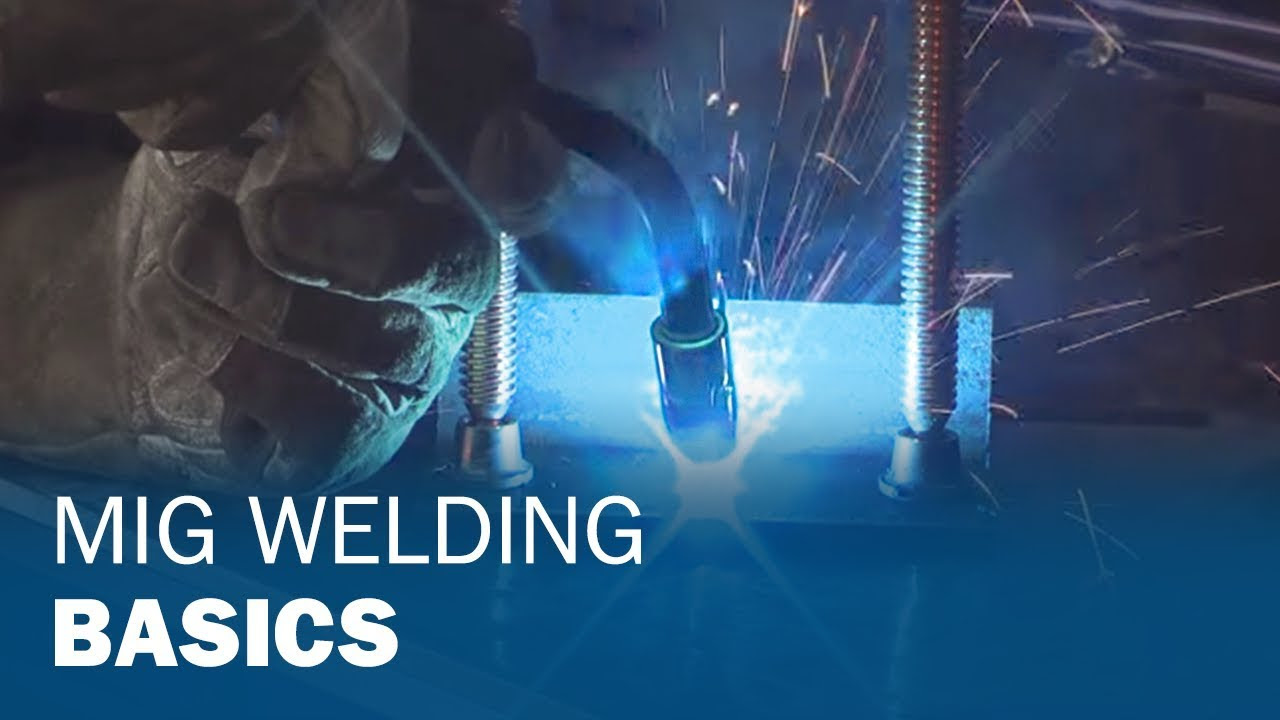 MIG Welding Basics for Farm and Automotive Repairs - YouTube