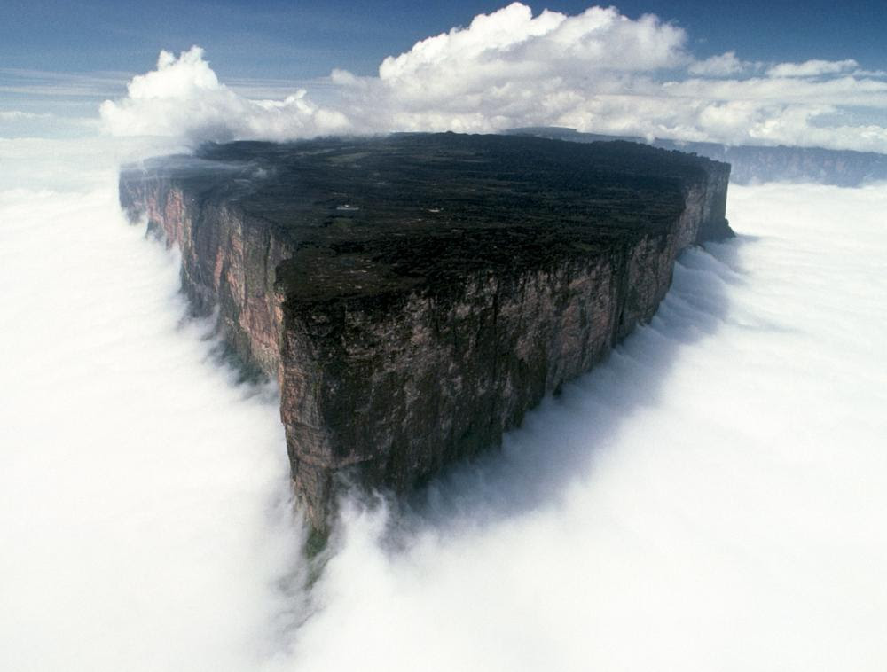Mount Roraima Surrounded By Clouds Picture