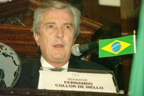 Fernando Collor de Melo Foto: Murilo Resende / Futura Press