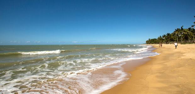 Praia de Trancoso, que era um reduto pouco explorado pelo turismo no passado