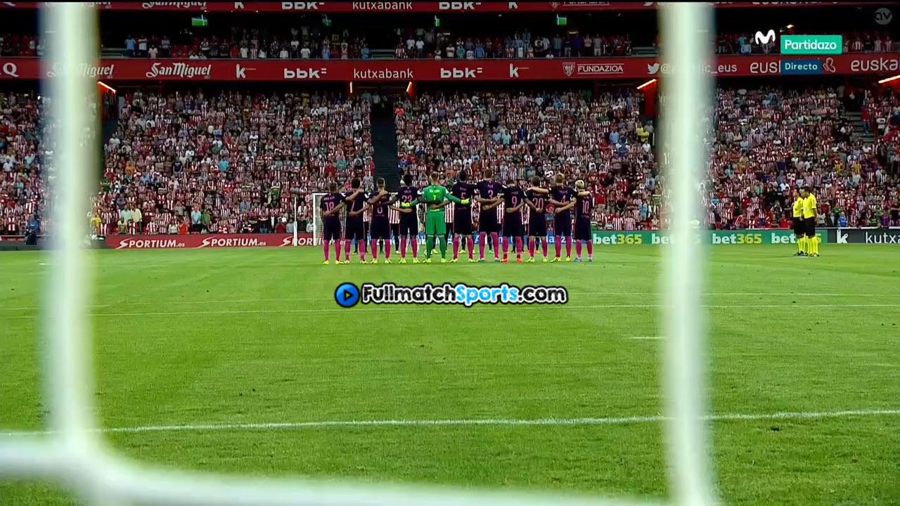 FULL MATCH Athletic Bilbao vs Barcelona La Liga 2016-2017