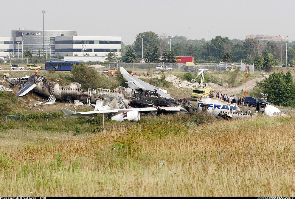 аварія літак A340 авіакомпанії Air France