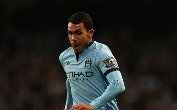 EPL - Manchester City v Swansea City, Carlos Tevez